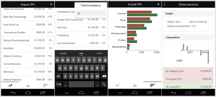 Cross-platform mobile with Cordova and Ionic Framework