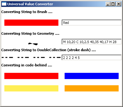 A Universal Value Converter for WPF