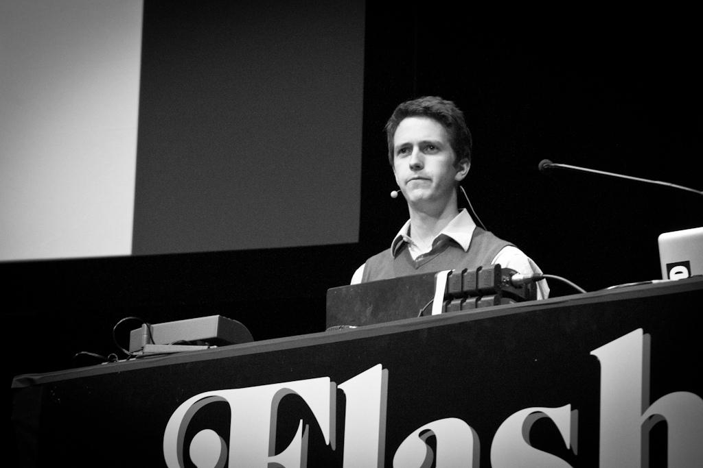 Graham at FOTB2011