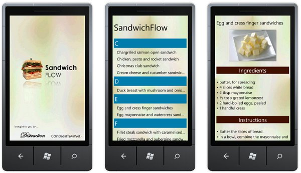 A Simple Multi-Page Windows Phone 7 PhoneGap Example