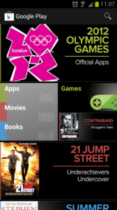 Google Play Grid