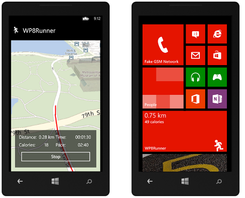 best windows phone running app