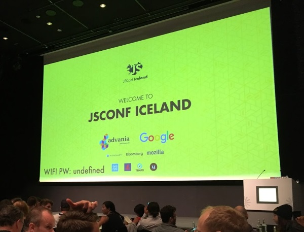 Welcome to JSConf Iceland