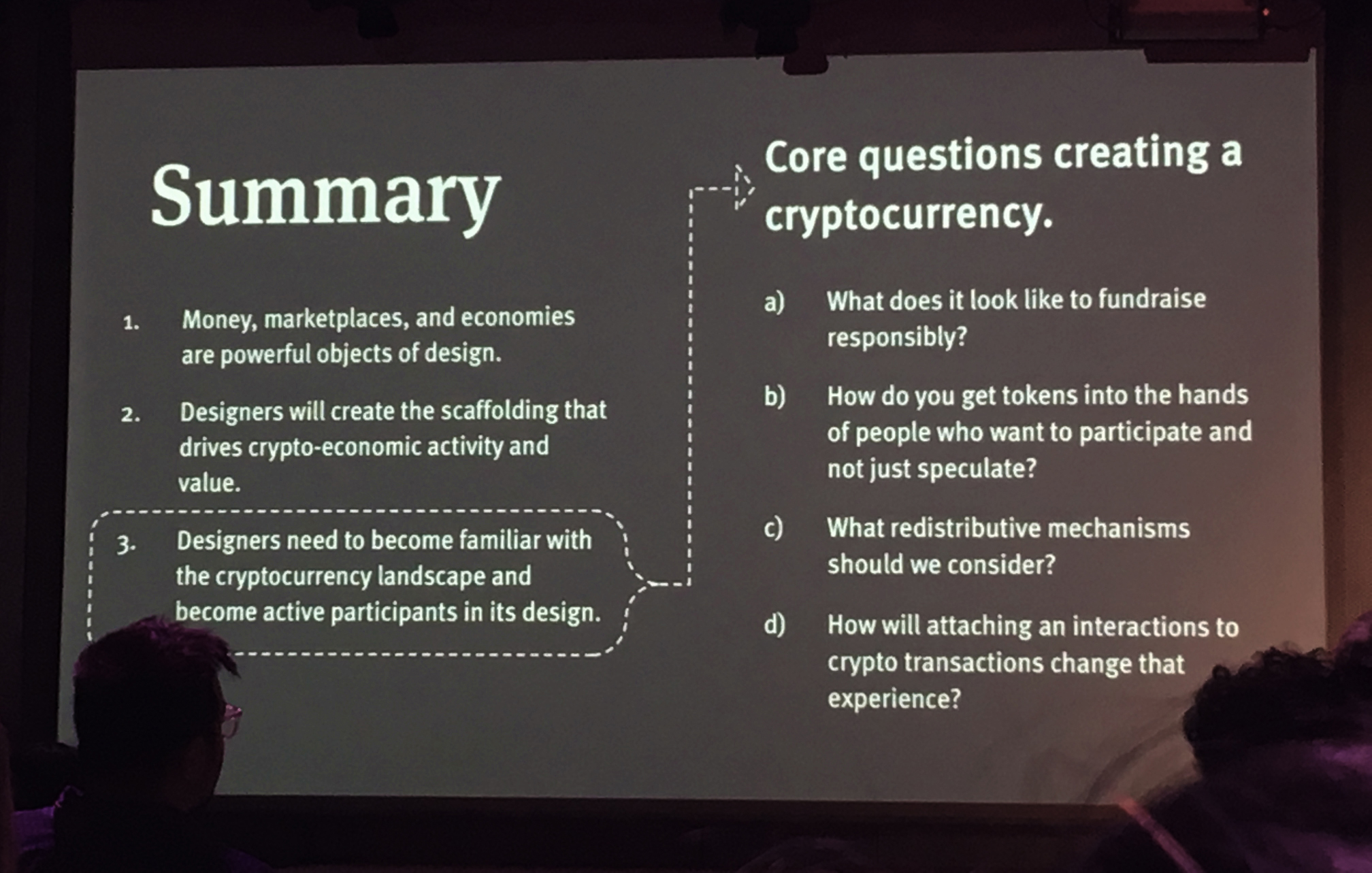 Core questions to ask when creating a cryptocurrency