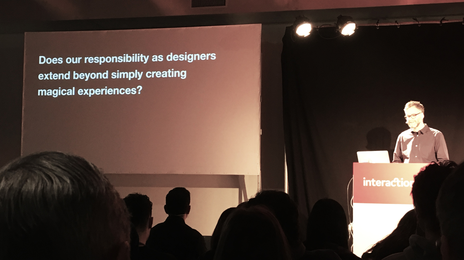 Does our responsibility as designers extend beyond simply creating magical experiences