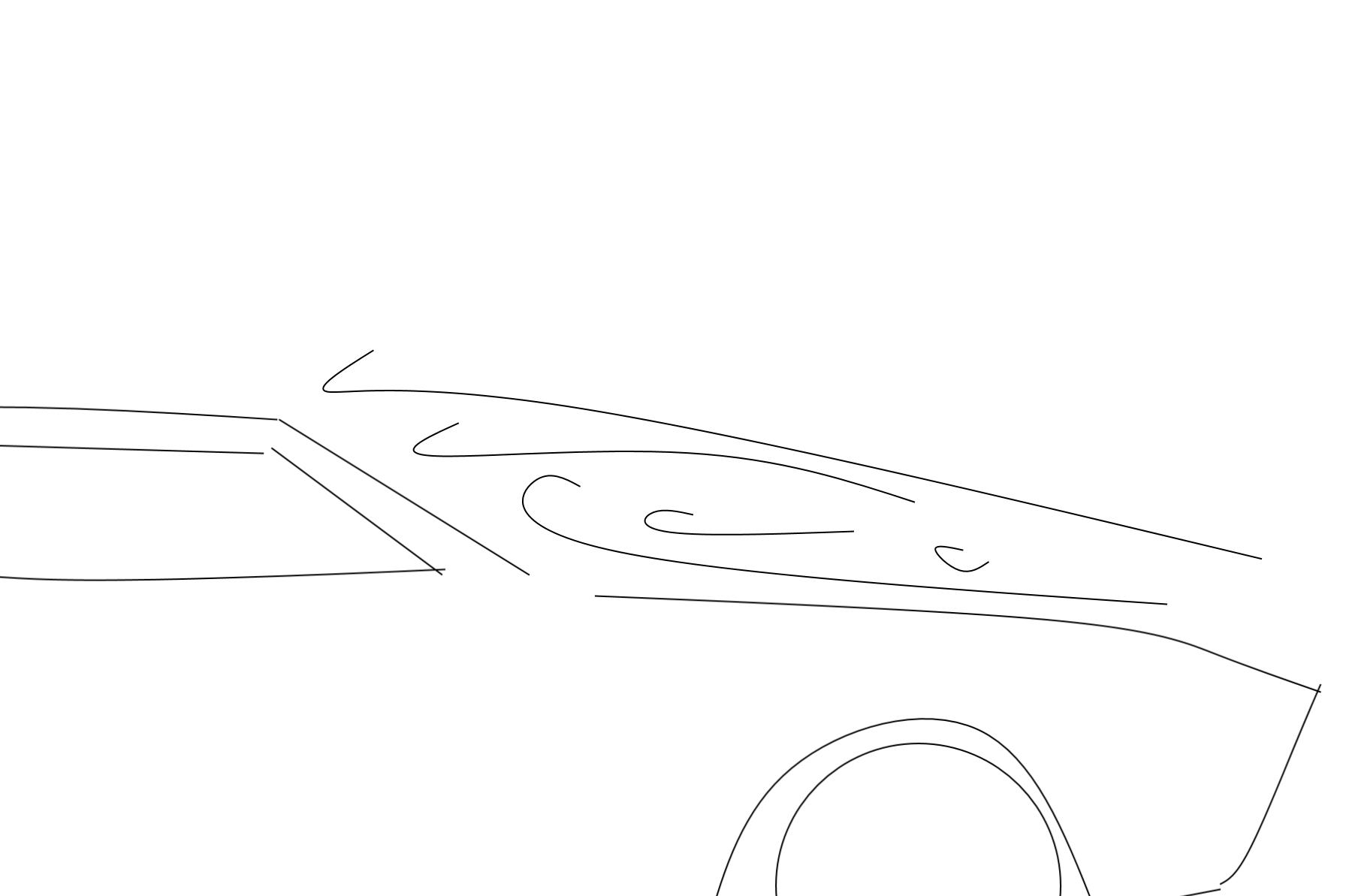 Car in Wind Tunnel