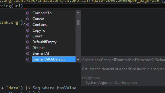 F# intellisense screenshot