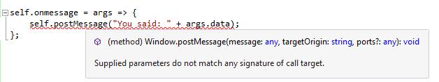 Invalid Error in WebWorker
