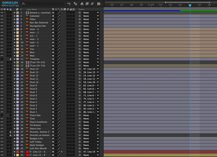 Layers in After Effects