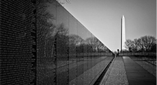Vietnam war memorial wall, Maya Lin