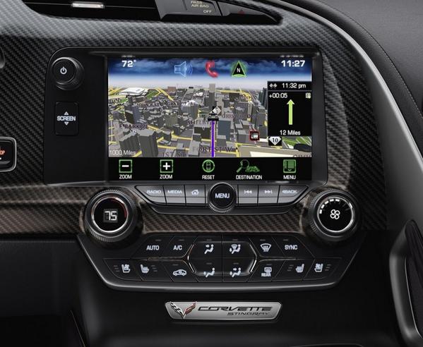 Corvette Stingray Infotainment System
